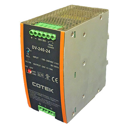 Power Supply, Switching, 240 Watt, 24 Volt Output