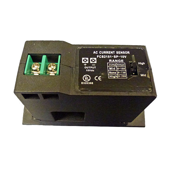 Current Transducer, 0 to 100A/150A/200A,0~10V