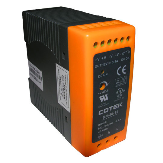 Power Supply, Switching, 40 Watt Output, Class 2