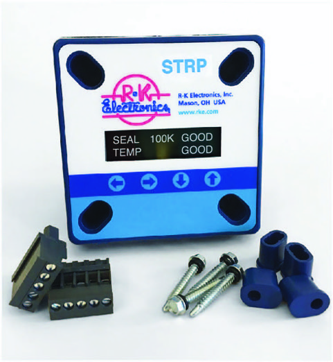 Digital Seal & TempStat Relay - Panel / Door Mount