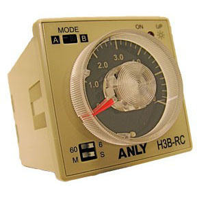 Wide Voltage Multi-range Analog Timer