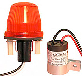 Flashing 15 Watt Alarm Light