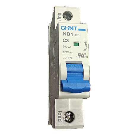 1 Pole Mini Circuit Breaker 5KA UL1077