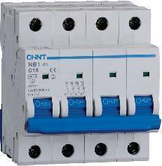 4 Pole Mini Circuit Breaker 5KA UL1077